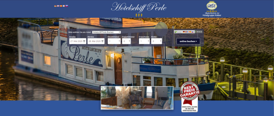 Hotelschiff Perle Bremen
